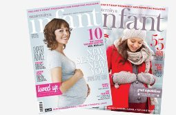 Maternity and infant subscribe background image