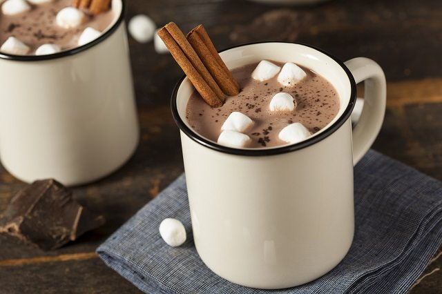 hot chocolate recipes for kids, peppermint hot chocolate recipe