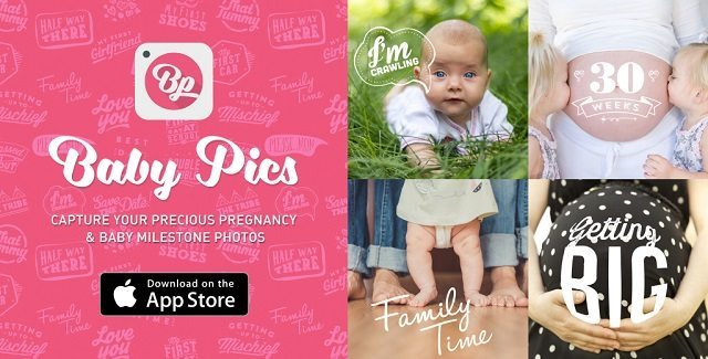 baby pics app, number 1 apps, pregnancy apps, top rated pregnancy apps, top rated baby apps, pregnancy milestones, baby milestones