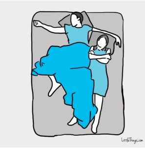 sleeping position, relationship, what your sleeping position says about your relationship, partner, sleeping, couple sleeping positions