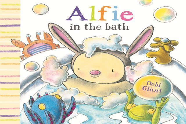 Gobblefunked, bookworm wednesday, alfie in the bath, children's books