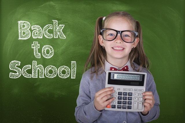 chalkboard, child, calculator, girl, school, cost, school