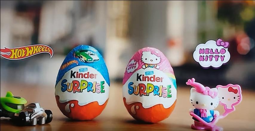 Kinder Surprise advert
