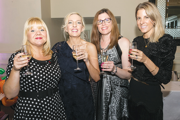 Joeleen Coy from One Yummy Mummy, Jen Hogan from Mamatude, Becky O'Hare from Cuddle Fairy and Cliona O'Connor from LeanMeanMama