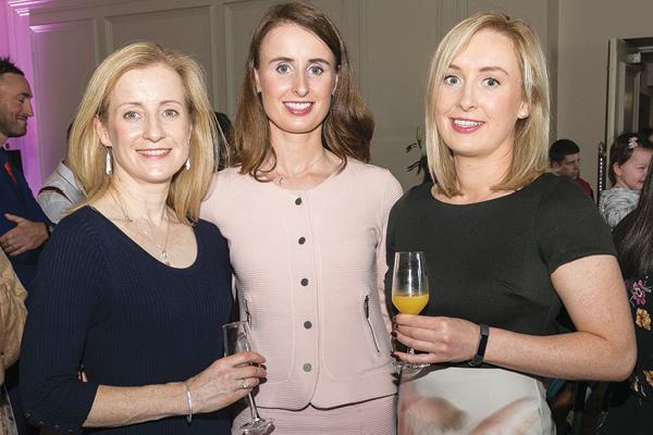 , Lillian Fadden, Ann Marie Fadden and Oonagh Fadden from Clane, Co. Kildare