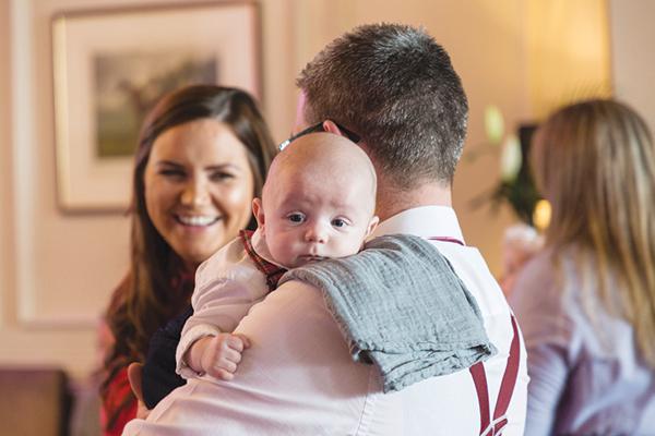 Dad Aidan Barrett, Mum Ann Barrett and son Sam Barrett from Belturbet