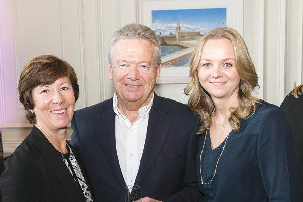 Siobhan Wilmont, David Ward and Laura Ward from mothercare Ireland