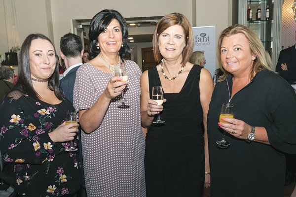 Emma Bayley from Eurobaby, Pauline Harmon and Liz Warren from Dorel and Maureen Hyland from Eurobaby