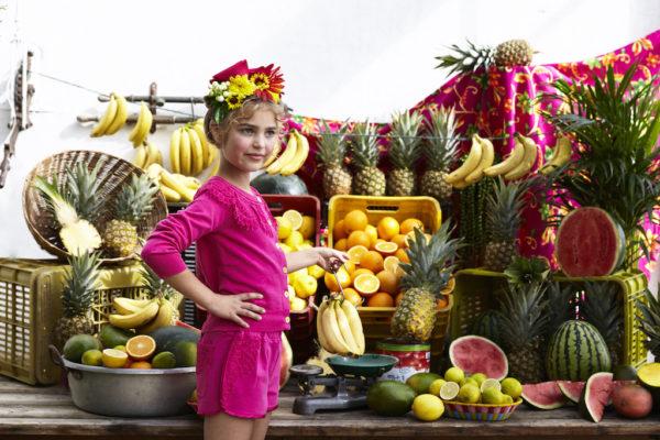 Hilary Shorts - Fuchsia - Lifestyle 5